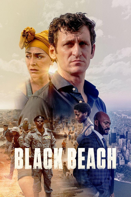 Black Beach Poster