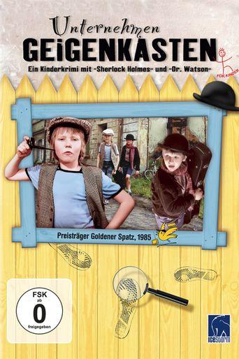 Unternehmen Geigenkasten Poster