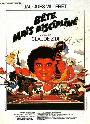 Bête, mais discipliné Poster