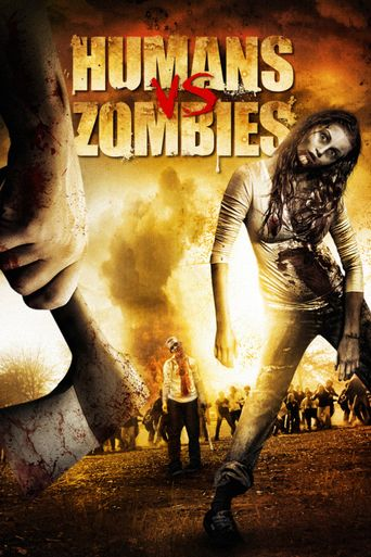 Humans vs Zombies Poster