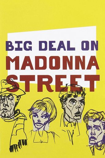 Big Deal on Madonna Street Poster