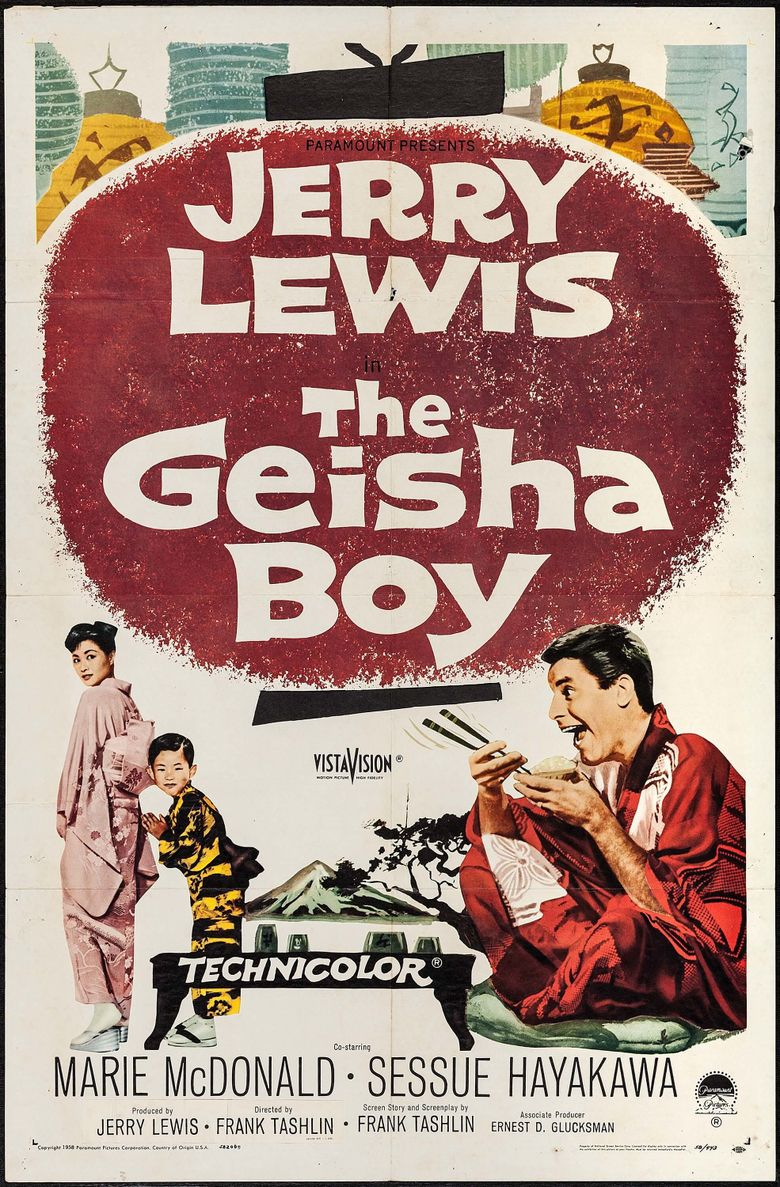 The Geisha Boy Poster