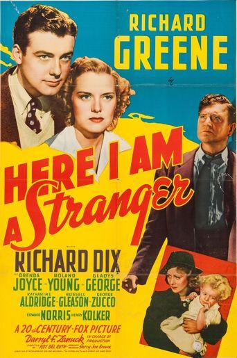 Here I Am a Stranger Poster