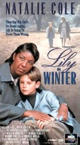 Lily in Winter Poster