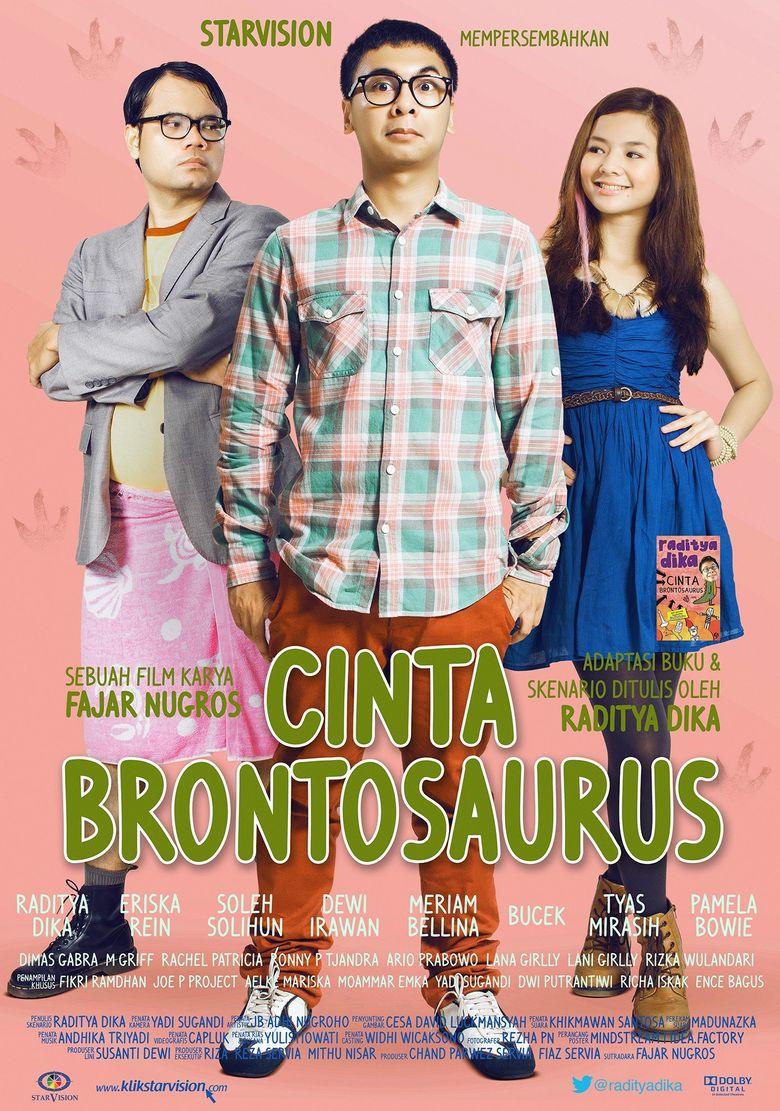 Cinta Brontosaurus Poster