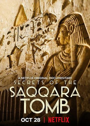 Secrets of the Saqqara Tomb Poster