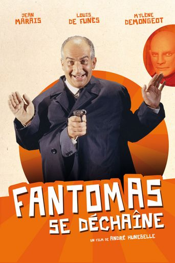 Fantomas Unleashed Poster