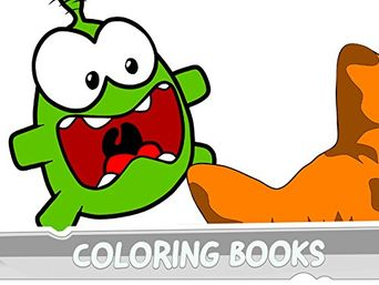 Cut the Rope - Coloring Books Poster