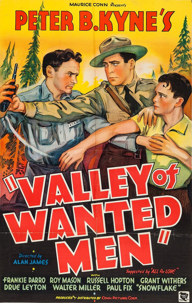 Valley of Wanted Men Poster