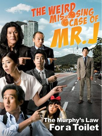 The Weird Missing Case of Mr. J Poster