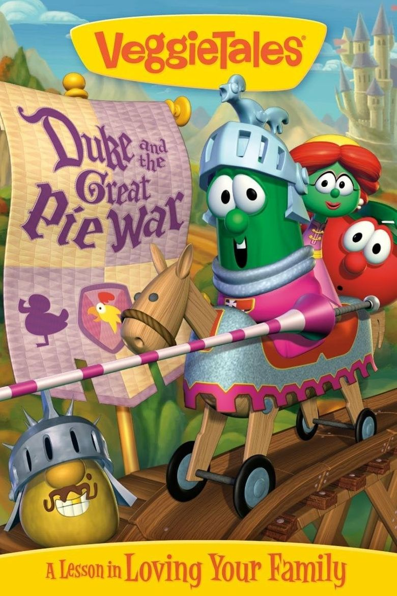 Veggietales Duke And The Great Pie War 2005 Where To Watch It Streaming Online