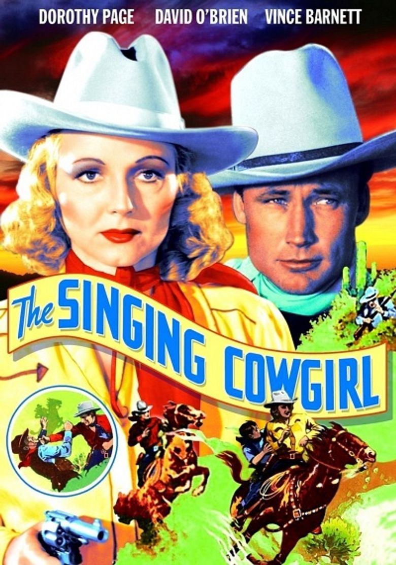 The Singing Cowgirl Poster