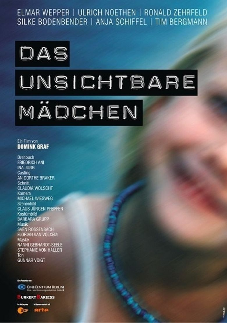 Das unsichtbare Mädchen Poster