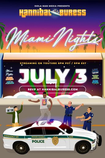 Hannibal Buress: Miami Nights Poster