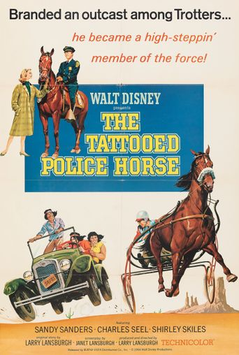 The Tattooed Police Horse Poster