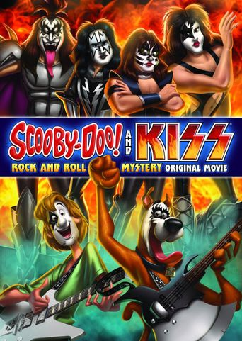 Scooby-Doo! and Kiss: Rock and Roll Mystery Poster