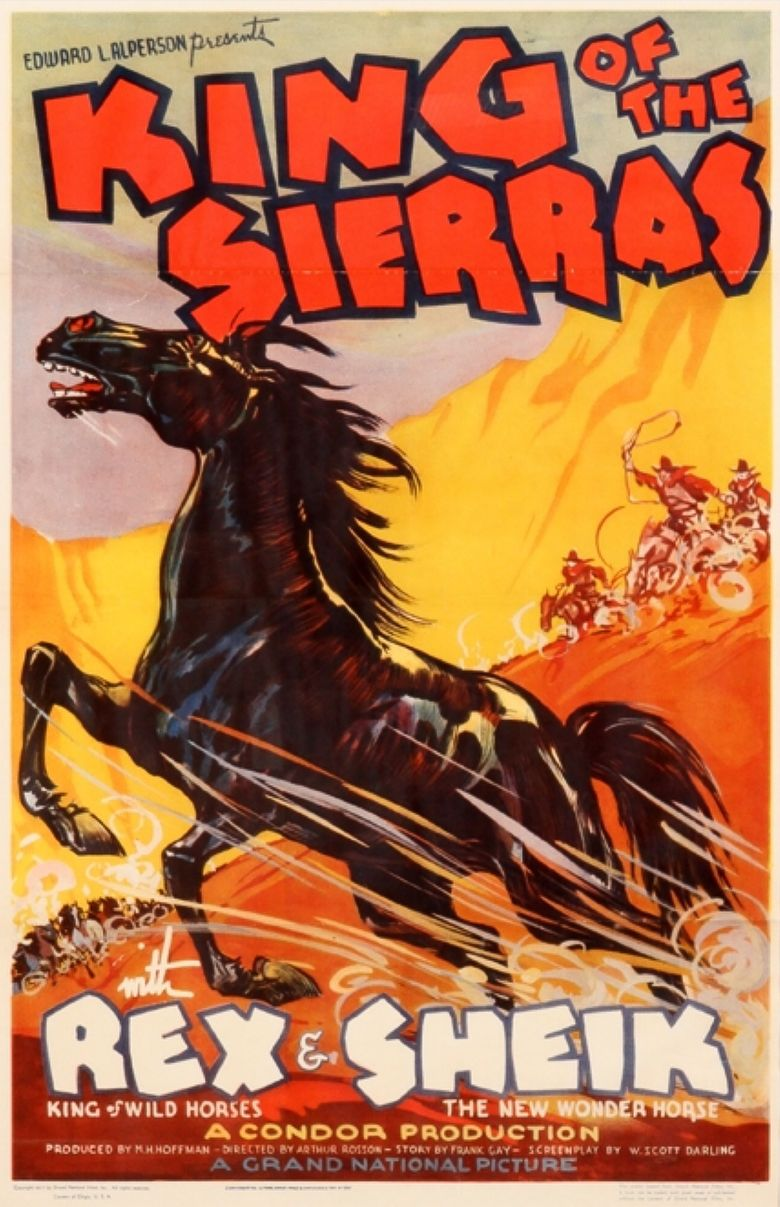 King of the Sierras Poster