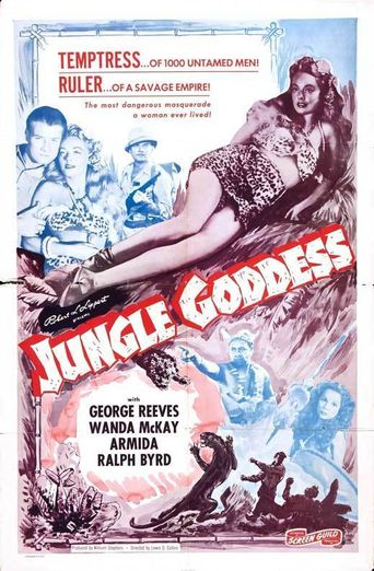 Jungle Goddess Poster