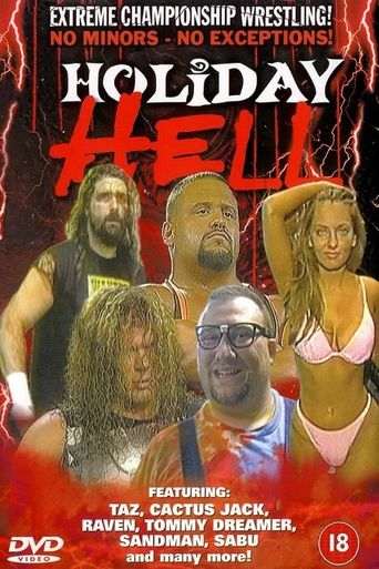 ECW Holiday Hell 1996 Poster