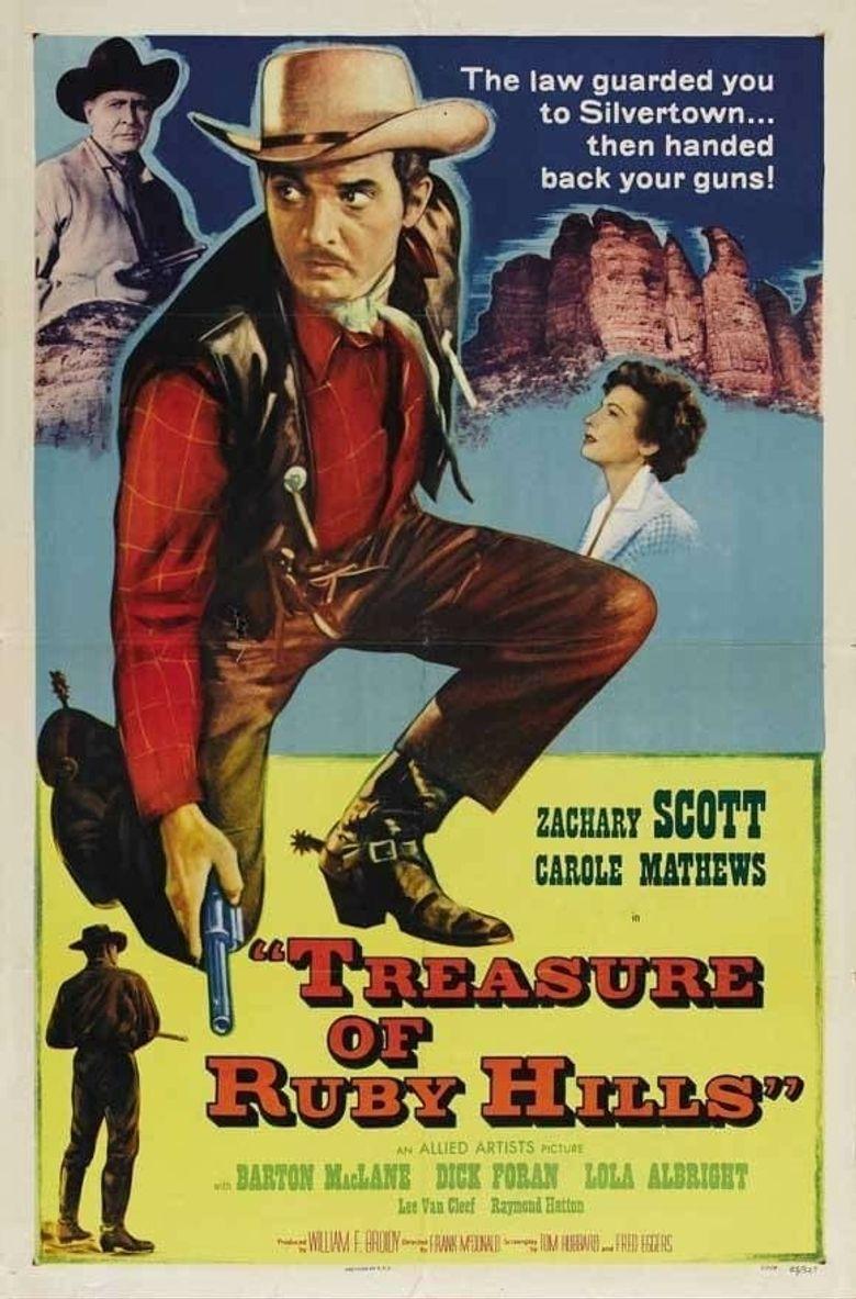 Treasure Of Ruby Hills Poster