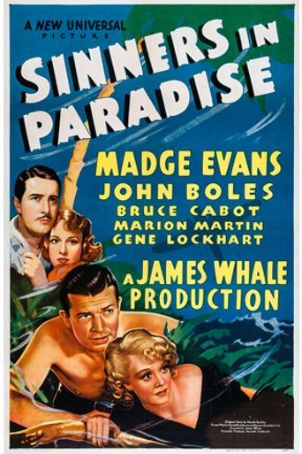 Sinners in Paradise Poster