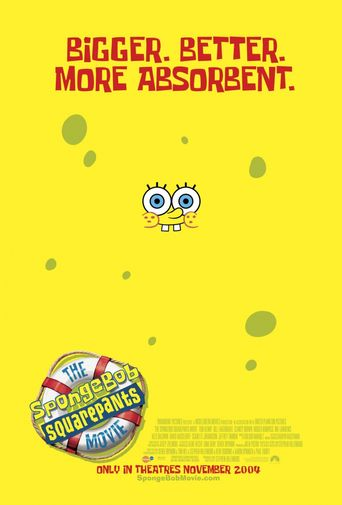 Watch The SpongeBob SquarePants Movie