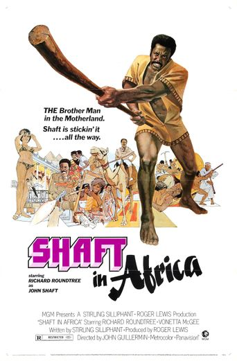 Shaft in Africa Poster