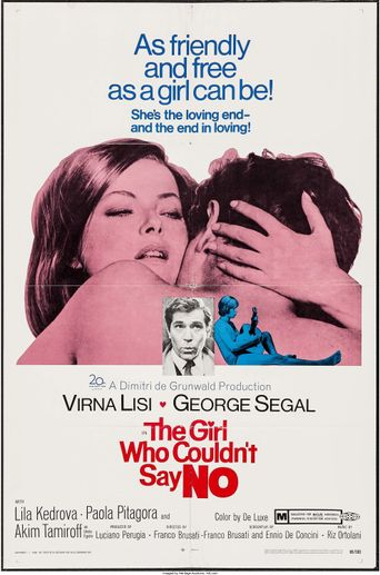The Girl Who Couldn't Say No Poster