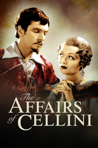 The Affairs of Cellini Poster