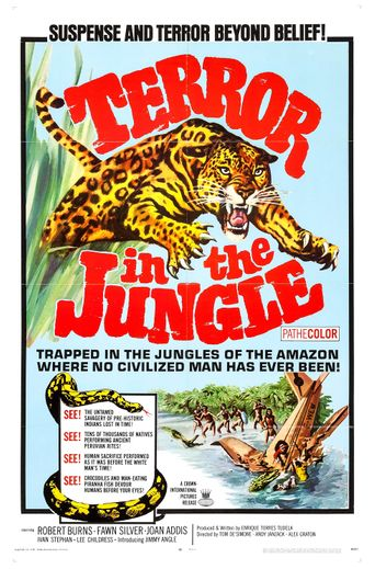 Terror in the Jungle Poster