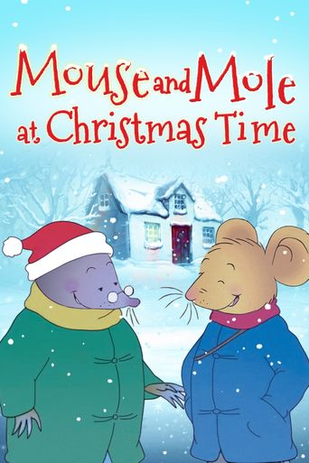Mouse and Mole at Christmas Time Poster
