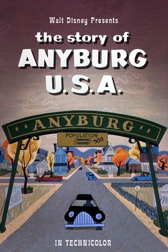 The Story of Anyburg U.S.A. Poster