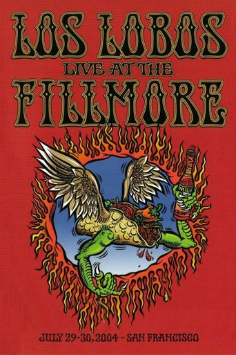 Los Lobos: Live at the Fillmore Poster