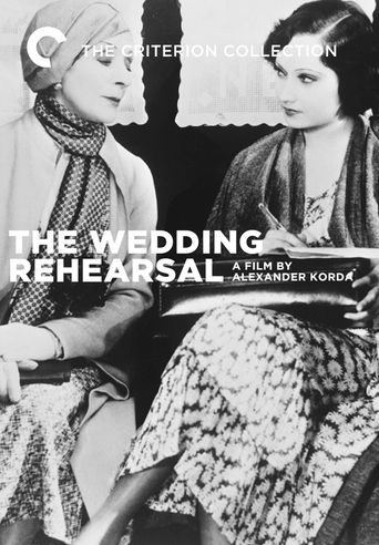 Wedding Rehearsal Poster