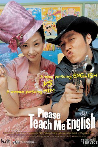Please Teach Me English Poster