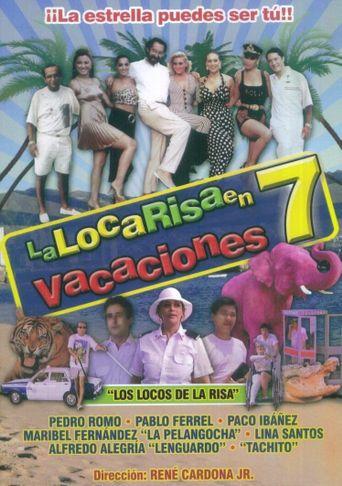 La loca risa en vacaciones 7 Poster