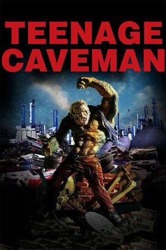 Teenage Caveman Poster