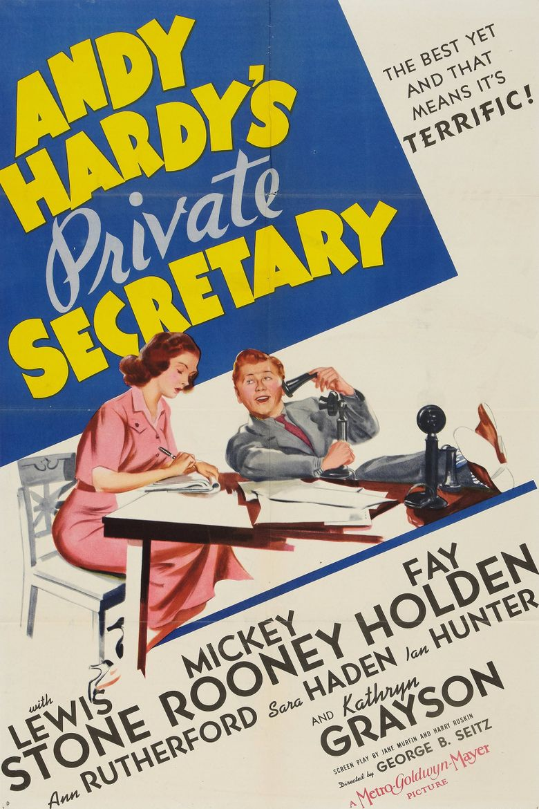 Andy Hardy's Private Secretary Poster
