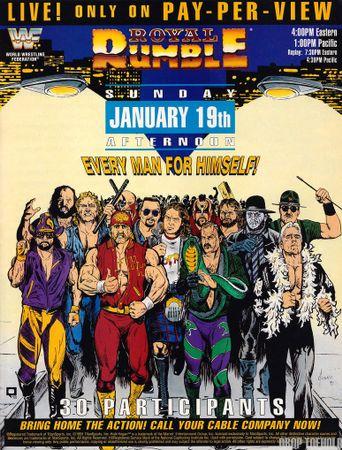 WWE Royal Rumble 1992 Poster