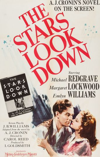 The Stars Look Down Poster