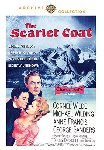 The Scarlet Coat Poster