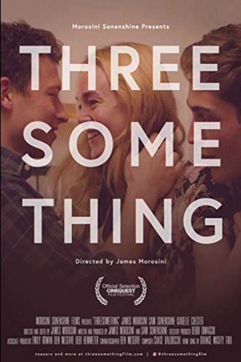 Threesomething Poster