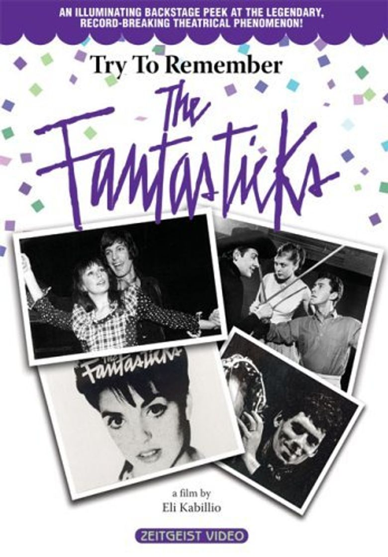 Try to Remember: The Fantasticks Poster