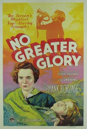 No Greater Glory Poster
