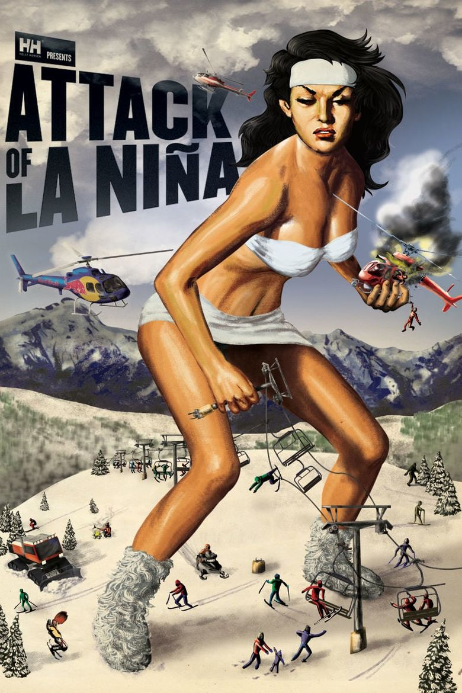 Attack of La Niña Poster