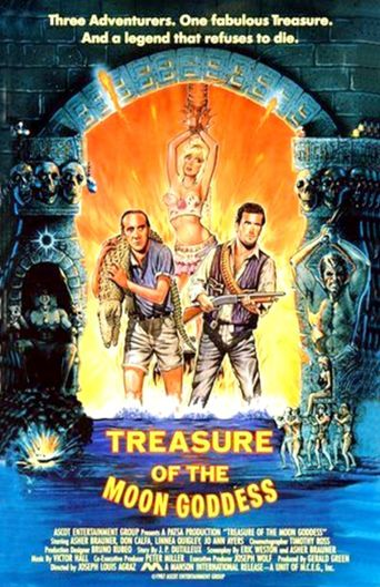 Treasure of the Moon Goddess Poster