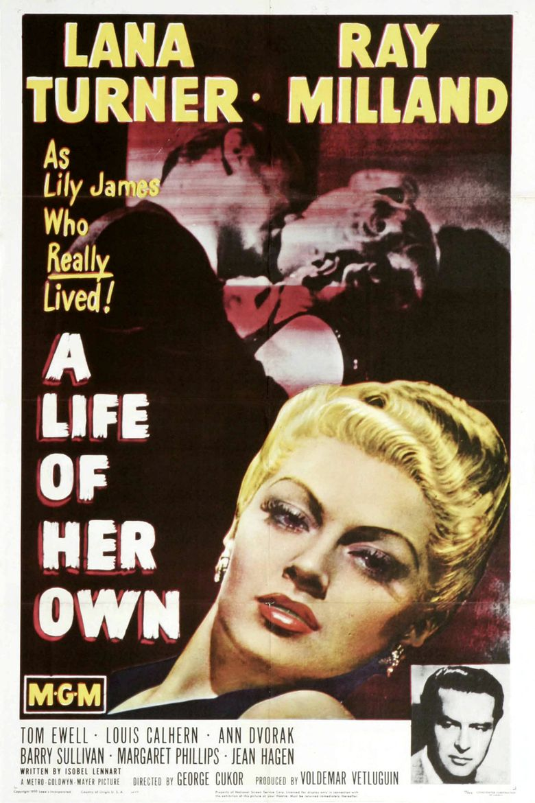 A Life of Her Own Poster