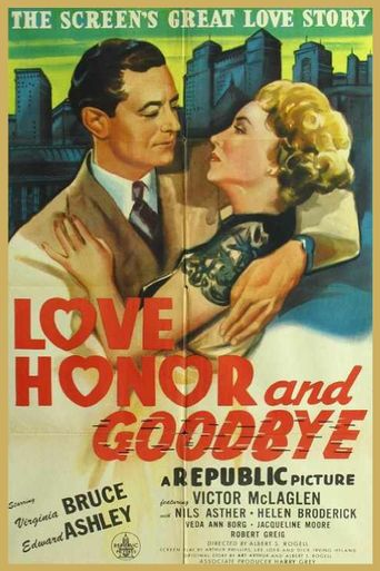 Love, Honor and Goodbye Poster