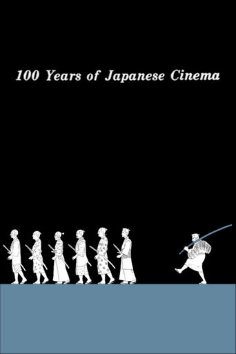 100 Years of Japanese Cinema Poster