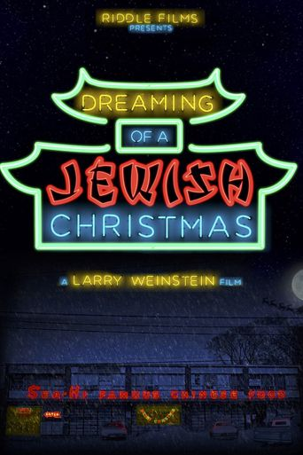 Dreaming of a Jewish Christmas Poster
